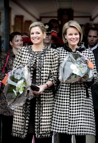 Princess Maxima and Princess Mathilde, 2008
