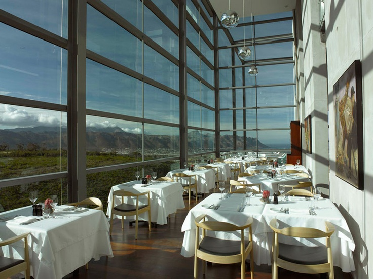 Top 20 in SA Restaurant - at Waterkloof Vineyards in Somerset West.