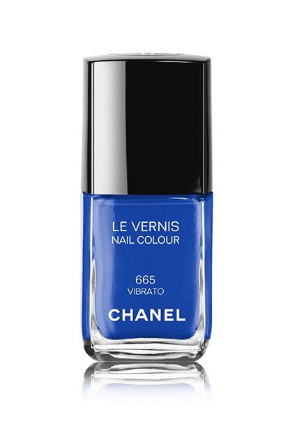Get Ready To See These L.A. Nail Color Trends EVERYWHERE  #refinery29  http://www.refinery29.com/la-nail-polish-color-trends#slide-11  Shades Of BlueGibson's on-trend pick for 2017 is this vibrant hue, a cheery shade that will have you feeling blue — in the best way. Chanel Le Vernis Nail Colour in 665 Vibrato, $34, available at C...