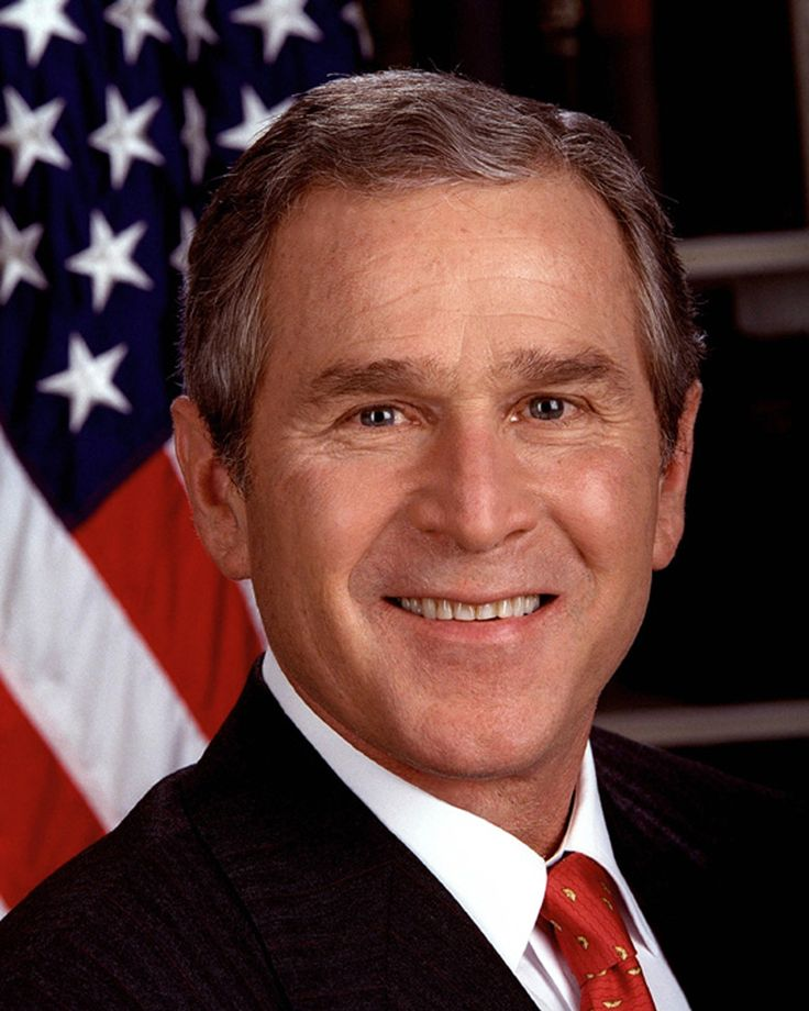 George W. Bush, 43rd President of USA, 2001-2009, Sir, thank you for your leadership after 9/11