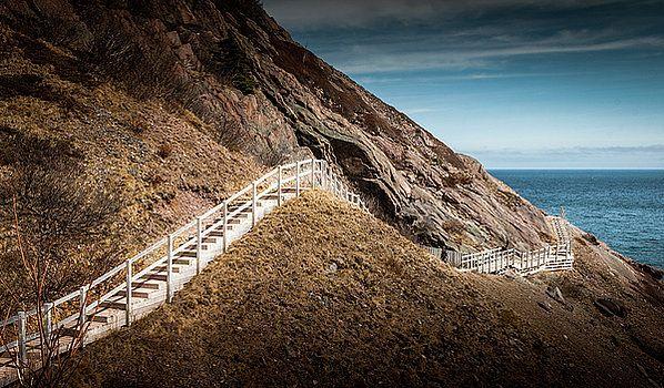 Signal Hill Walkway, St. John's, Newfoundland #2 by Mike Organ