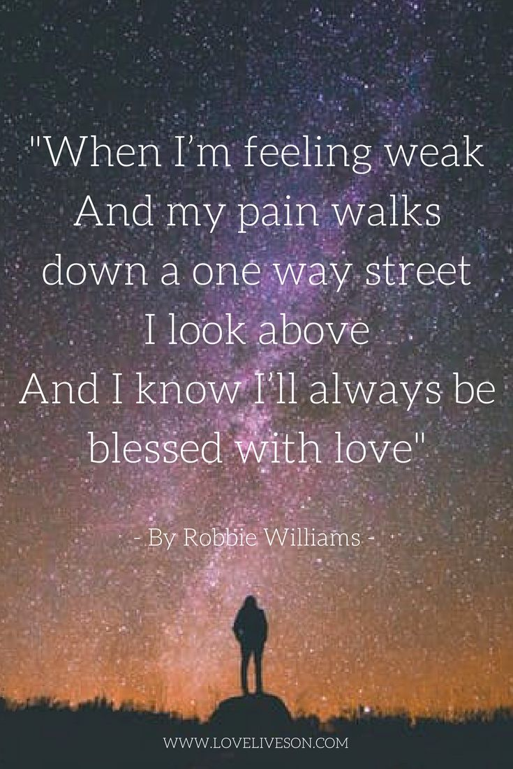 """From one of our 150 best funeral songs """"Angels"""" by Robbie Williams."""
