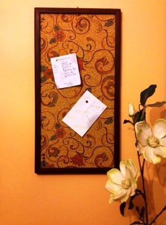 DIY - TABLICA KORKOWA I DIY - PIN BOARD | peace&room-en