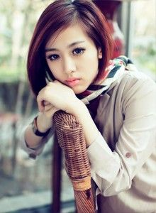 asian women hairstyles 2014 #short bob hairstyles for oval faces #trendy red hair for girls