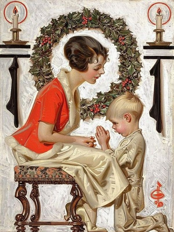 44 best ⊱ Norman Rockwell ~ Christmas ⊰ images on Pinterest ...
