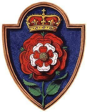 The Tudor rose (sometimes called the Union rose) is the traditional floral heraldic emblem of England and takes its name and origins from the Tudor dynasty.