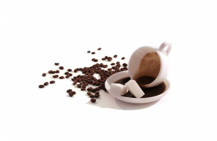 Caffè rovesciato, in alabastro e derivati. Realizzato da Marco Ricciardi, a Volterra!!!