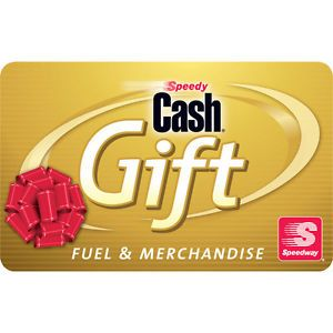 Buy $100 Speedway Gas Gift Card For Only $92!  FREE Mail Delivery