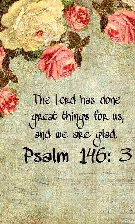 ༺♡༻ FABULOUS ༺♡༻ — Psalm 146:3