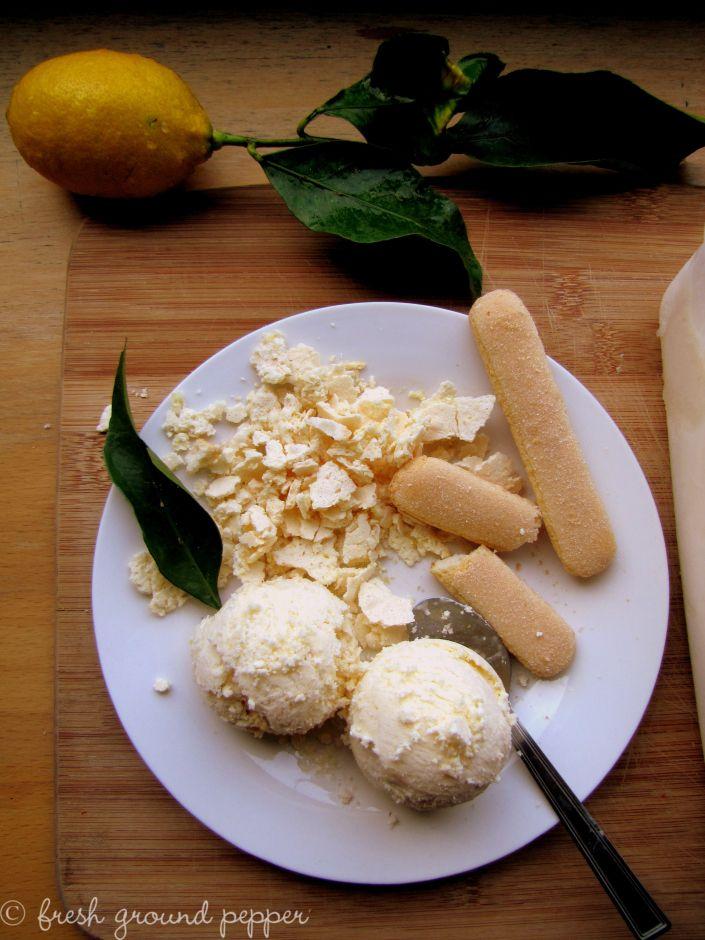 lemon meringue cookie ice cream