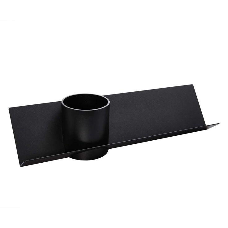 emform - Check Schreibtischablage, schwarz Schwarz T:12 H:11 B:45