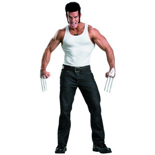 Best 25 x men party costume ideas on pinterest easy diy x men wolverine adult costume kit buy party costume solutioingenieria Gallery