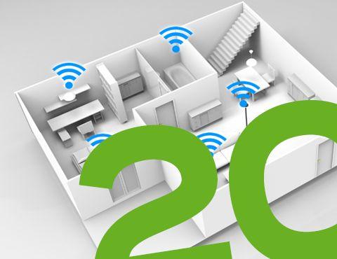 WLAN ist eine der meist genutzten Internetverbindungen! Kein Wunder, denn die kabellose Verbindung ist schnell hergestellt, ermöglicht eine hohe Datenübertragungsrate und praktisch alle Geräte verfügen heutzutage über einen WLAN-Anschluss. Was genau hinter WLAN steckt, erfahrt ihr auf raiffeisen.net!