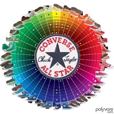 converse color wheel polyvorecom - All Converse Colors