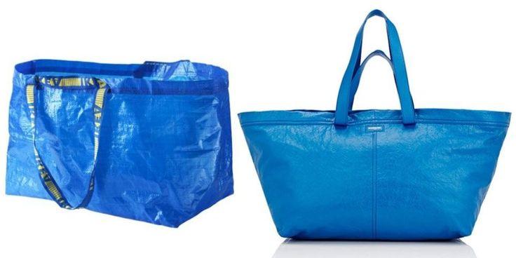 Ikea trolls Balenciaga's lookalike tote in the best way possible
