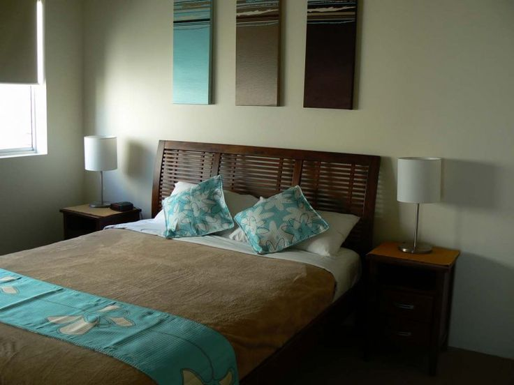 Seafarer Chase Apartments - 2 Bedroom Apartment Master Bedroom - Caloundra Family Holiday Accommodation