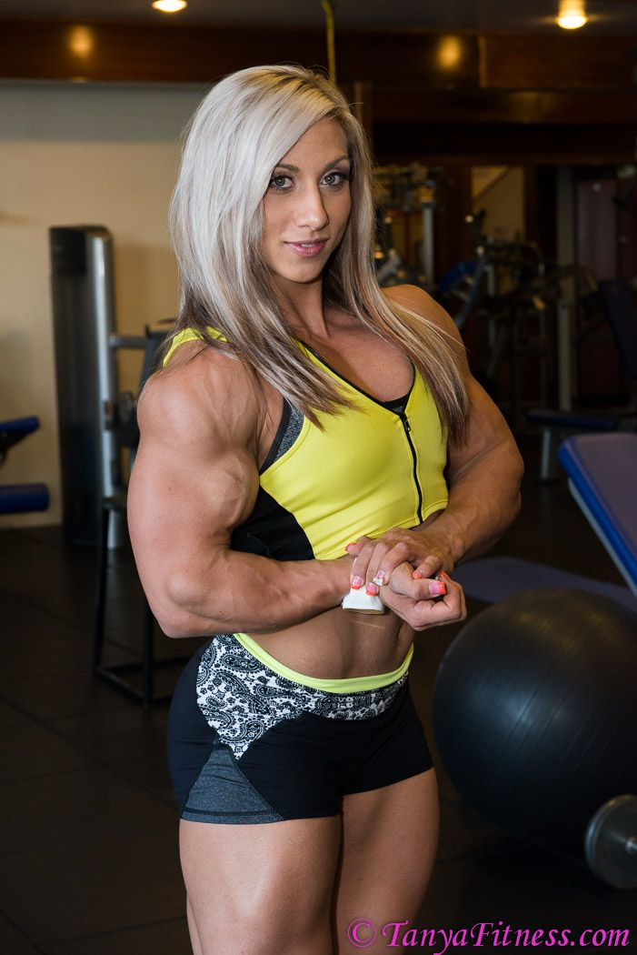 Balls were bulging bicep domination her
