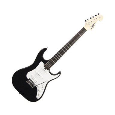 Lyon by Washburn electric guitar black and white