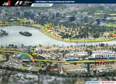 Para nós que gostamos de tecnologia, como a formula 1, adoramos o Tour Virtual nos bastidores do Grande Prêmio Austrália. Você escolhe o local na pista e aciona o tour..., Bem legal. Parabéns a todos da 360 South Austrália que participaram do projeto.