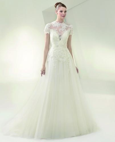 Igen Szalon wedding dress- BT14-1 #igenszalon #beautiful #weddingdress #bridalgown #eskuvoiruha #menyasszonyiruha #eskuvo #menyasszony #Budapest