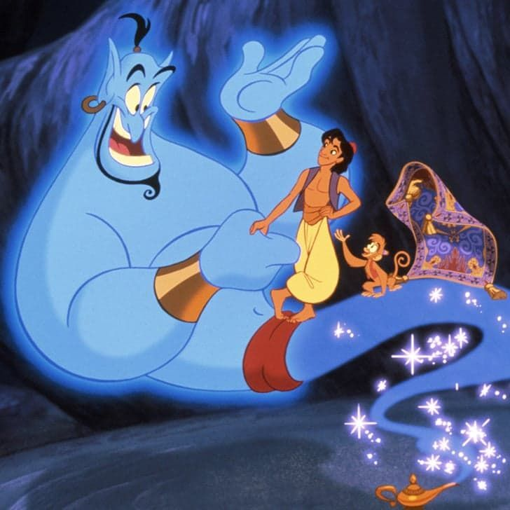This Old Footage of Robin Williams Will Make You Want to Run Home and Watch Aladdin