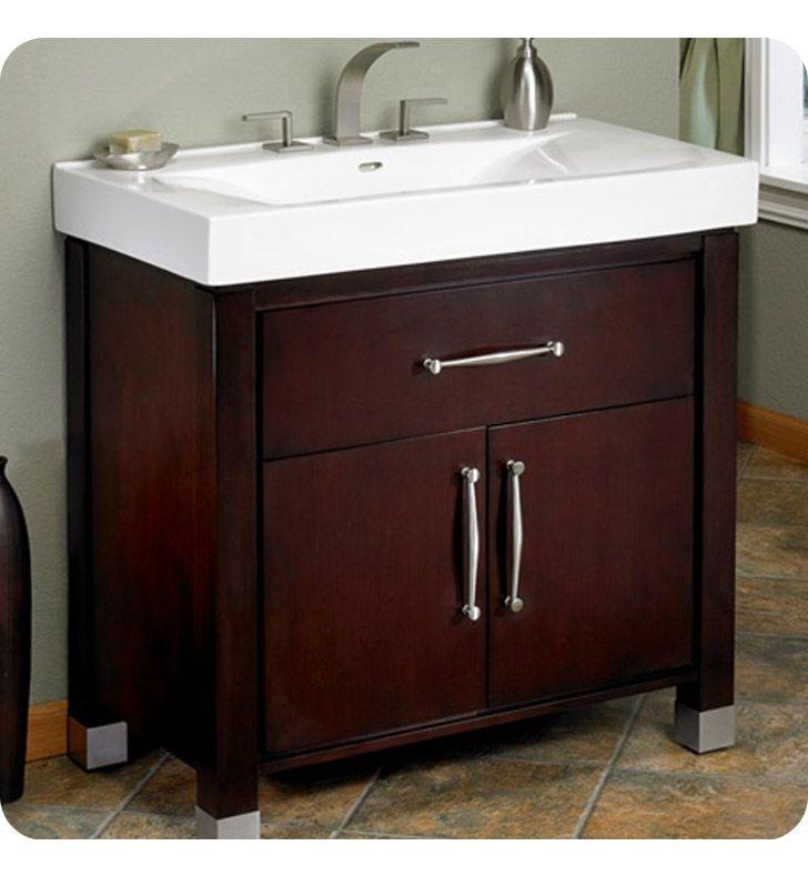 Fairmont Designs Midtown 30 Modern Bathroom Vanity In Espresso 1302 With