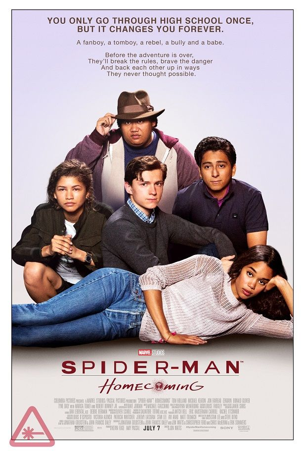 SPIDERMAN: HOMECOMING Retro Movie Posters Reference THE BREAKFAST CLUB, FERRIS BUELLER, and More | Nerdist