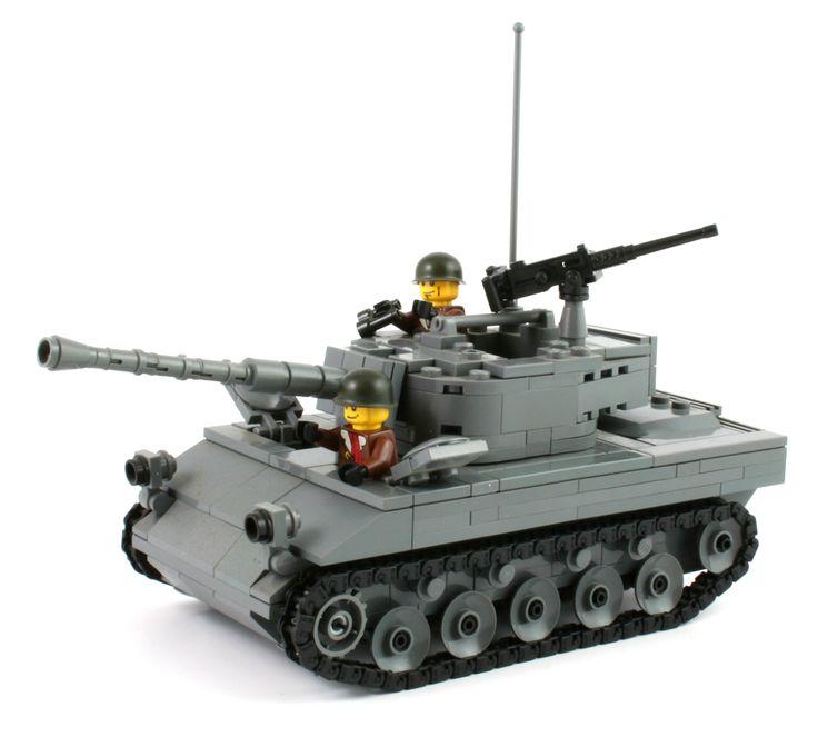 Brickmania - M18 Hellcat Tank Destroyer - Kit, $200.00 (http://www.brickmania.com/m18-hellcat-tank-destroyer-kit/)