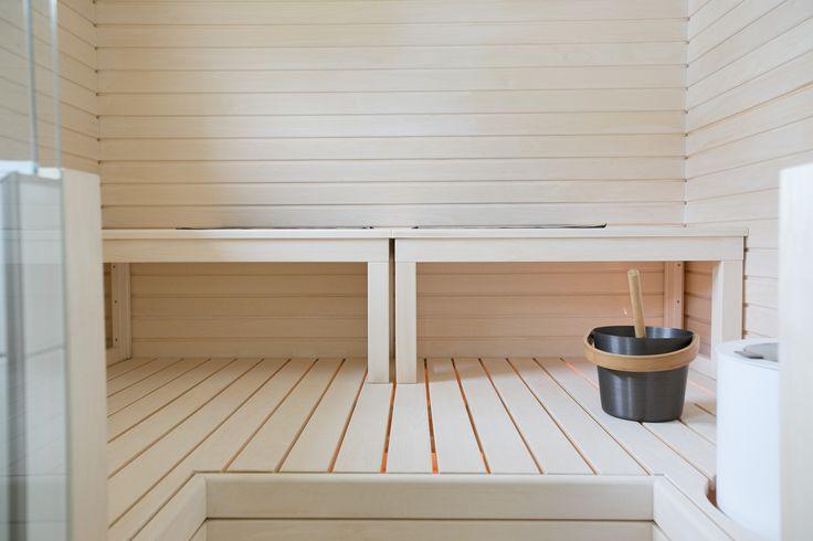 white sauna