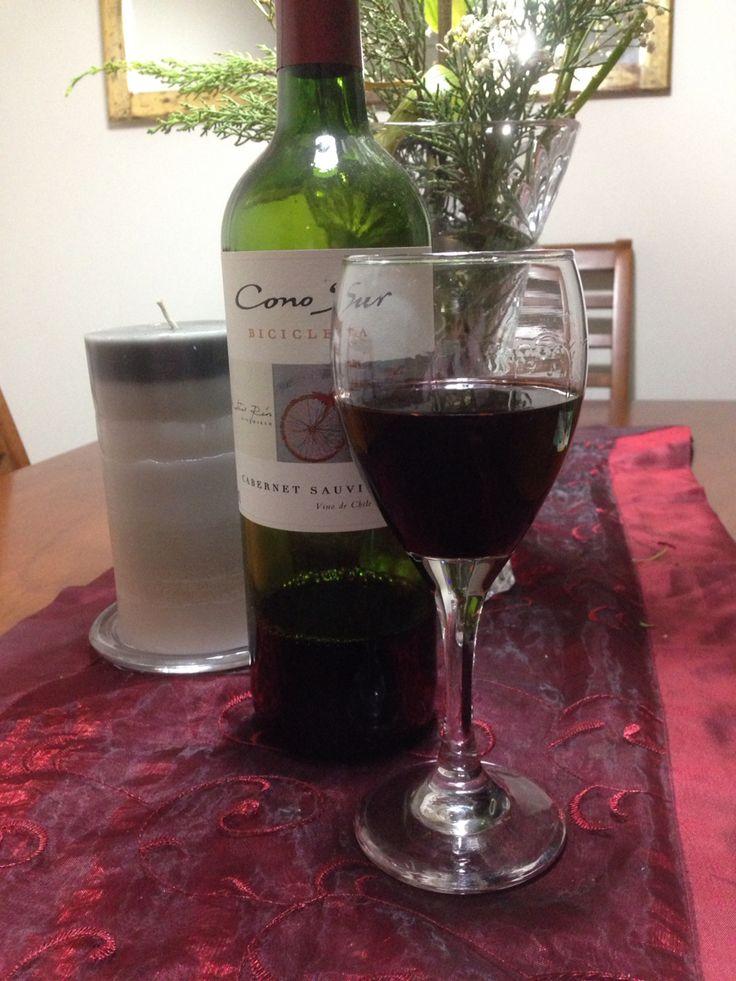 Porque hoy es el día del vino Chileno  salud