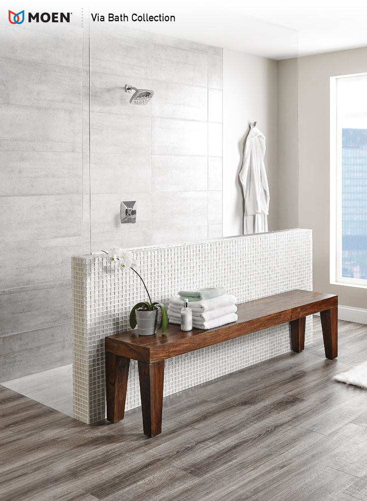 Our finely crafted Via bath collection helps you start your day with the perfect shower, each and every time.
