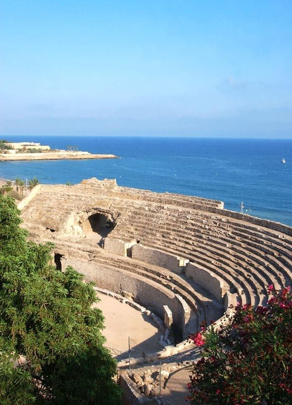 Anfiteatro-Romano-de-Tarragona  Is this where Christians were eaten by lions?