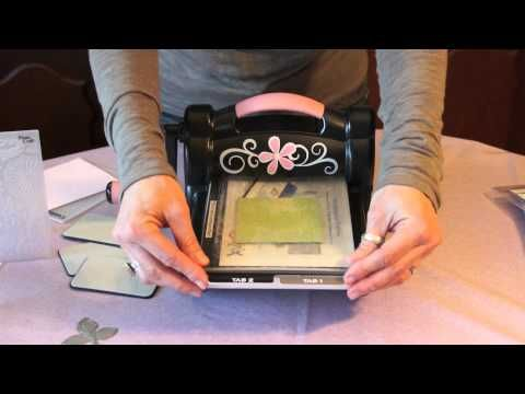 Come usare la Big Shot: fustelle ed embossing folders / How to use a #BigShot