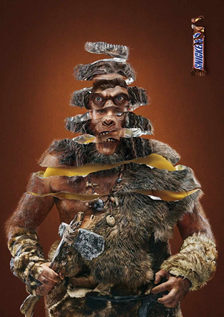 Snickers: Apeman