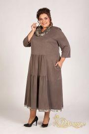Платья и сарафаны больших размеров для полных женщин в интернет магазине Сударушка. Есть все размеры на полную фигуру – от 50 до 74.