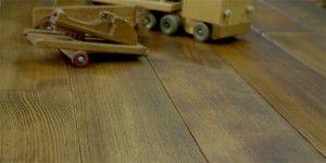Plancher de sapin douglas préhuilé
