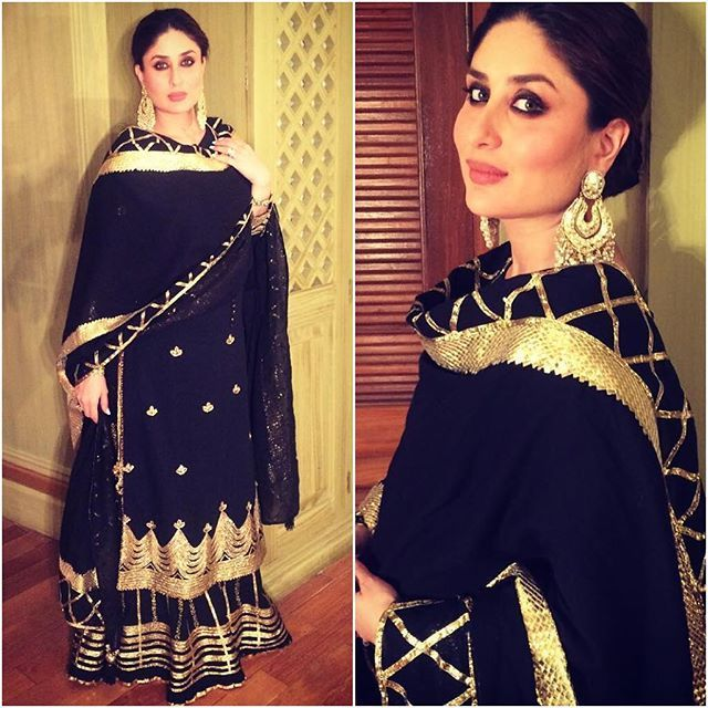 Kareena Kapoor Khan stuns in @sukritiandaakritiofficial #bollywood #style #fashion #beauty #bollywoodstyle #bollywoodfashion #indianfashion #celebstyle #kareenakapoorkhan #kareenakapoor #sukritiandaakriti