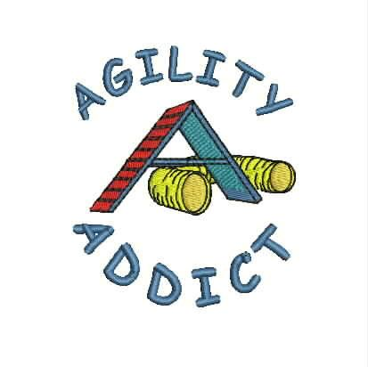 Dog Agility Tee Shirt Agility Addict with by divinedezigns1. Other designs available $19.95