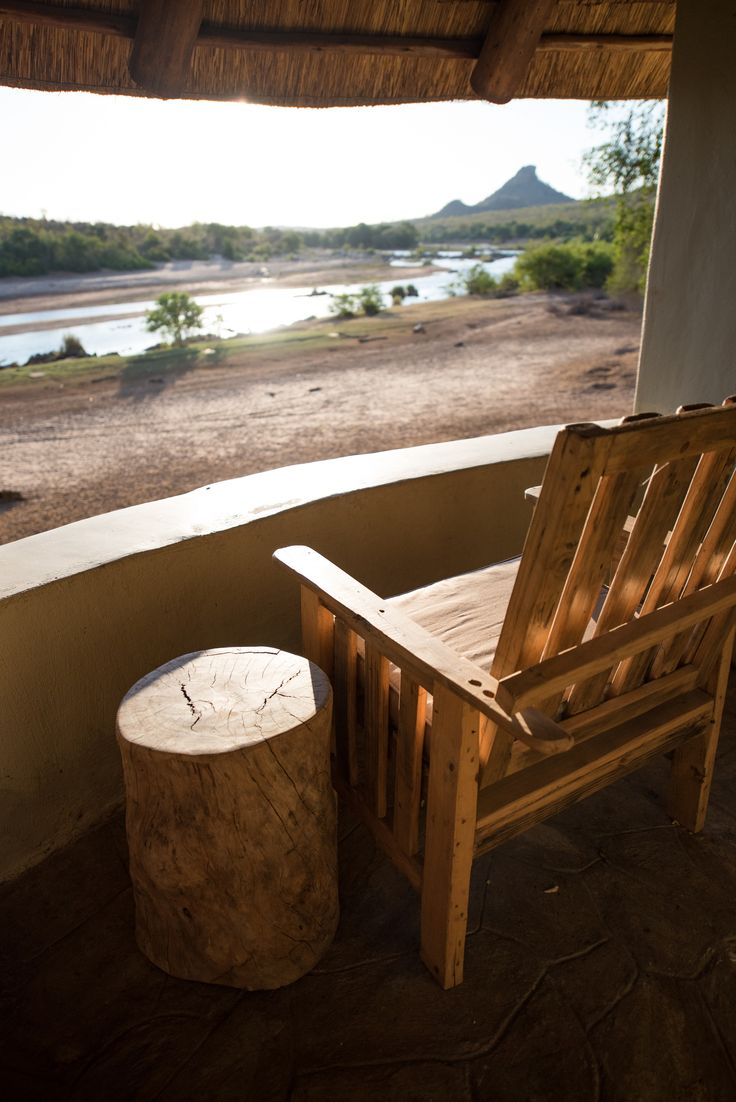 Relax at the deck and enjoy the beautiful views. #SefapaneMagic