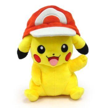 Pokémon Large Pikachu Plush with Ash's Hat