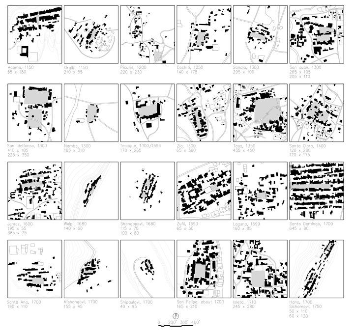 Pueblo Plazas   Planning city or regional   Map    diagram     City    grid     Architecture mapping