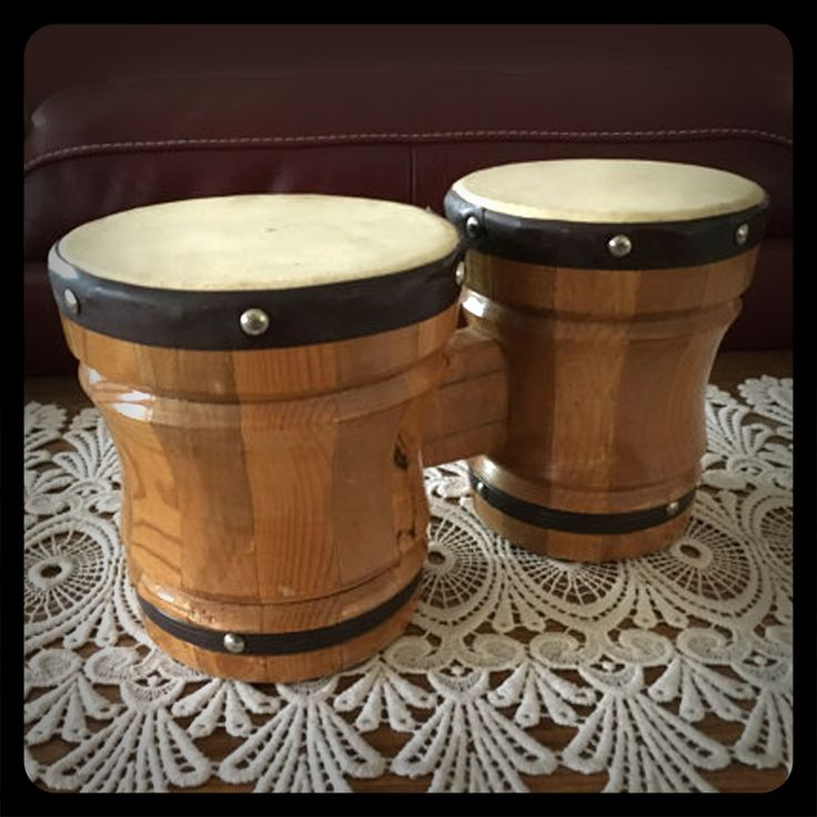 I remember having some bongo drums like these as a little kid in the early 70's.