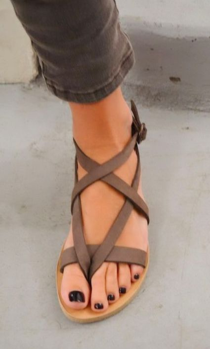 Cute strappy gladiator sandals