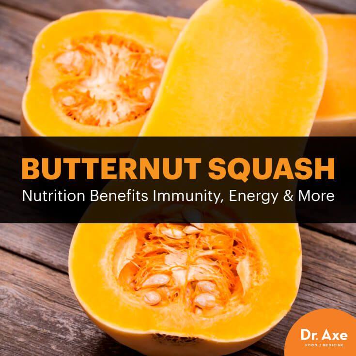 Butternut squash nutrition - Dr. Axe