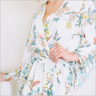 Plum Pretty Sugar robe
