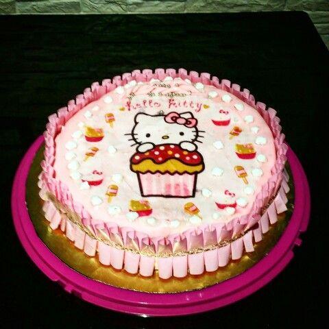Per la mia nipotina ... la kitty cake