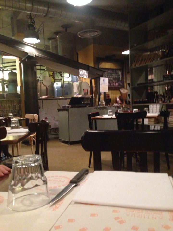 Food: La Dispensa nel Albiate, Lombardia. Ottima la pizza, carino il posto!