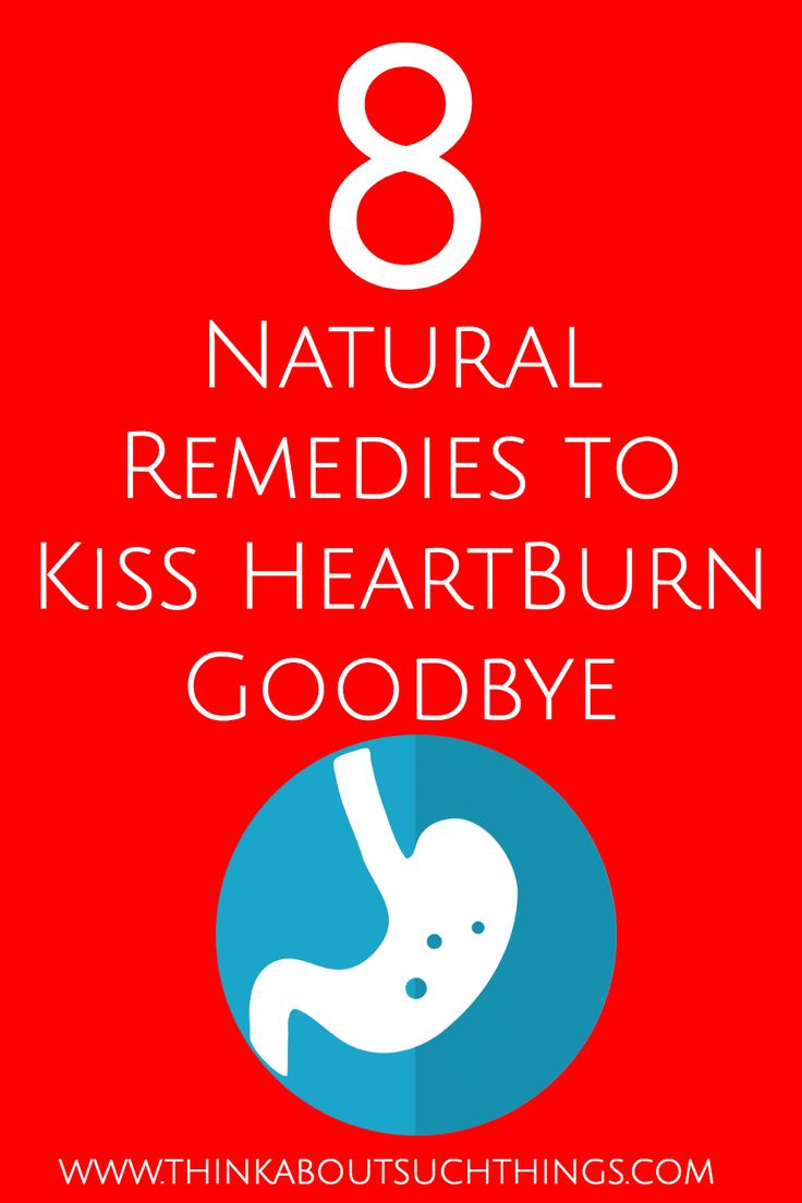Tired of gut issues? These natural remedies for heartburn will help calm you stomach's burn. They are a healthy alternative to over the counter antacids. #naturalhealth #heartburn