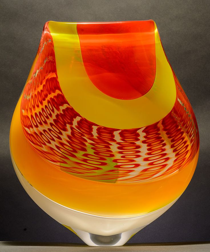 Lost Luggage, 2015; 16 x 13.75 x 5 by Brook Forrest White Jr of Flame Run Glass, Louisville KY