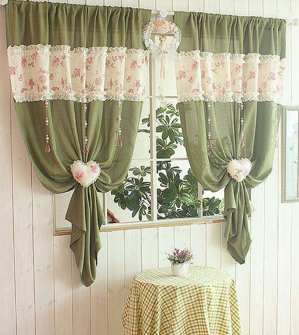 Сделать красивые шторы своими руками